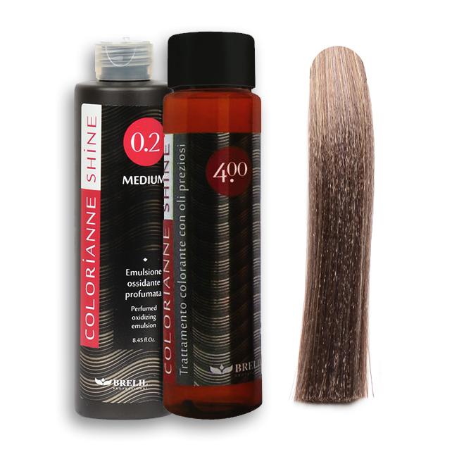 pack coloration sans ammoniaque shine sable - Shampoing Colorant Sans Ammoniaque