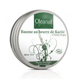 Baume au beurre de Karité et à l'huile d'Argan Bio
