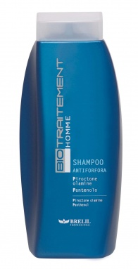 Homme shampooing anti pelliculaire