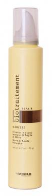 Biotraitement Repair mousse cheveux secs