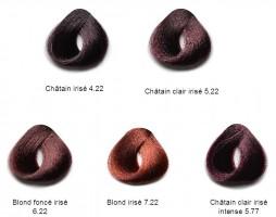 Coloration Séricolor  Irisés