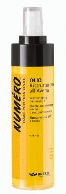 Numéro huile restructurante à l'avoine