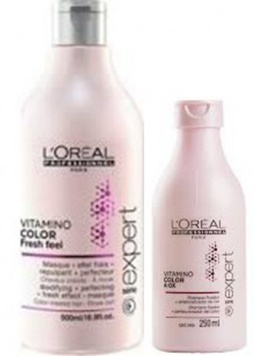 shampooing doux sans sulfate vitamino color a ox de l 39 oreal shampooing doux sans sulfate. Black Bedroom Furniture Sets. Home Design Ideas