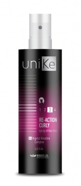 Spray ré-activateur de boucles force 3 UNIKE de BRELIL