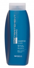 Homme Shampooing argent
