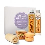 Coffret balade en Provence abricot Bio