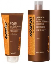 Numéro shampooing beauté à l'huile de macassar et kératine